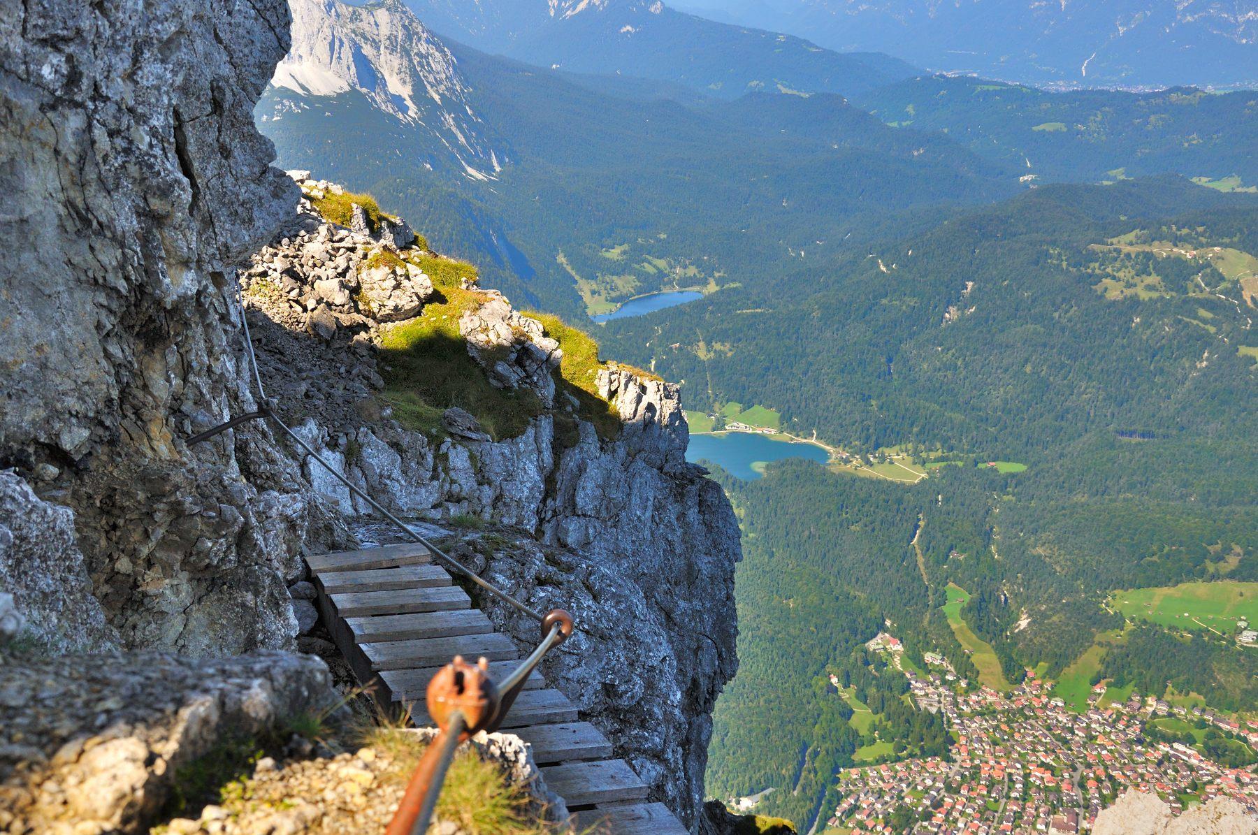 Klettersteig Mittenwald : Mittenwalder höhenweg karwendel fotos berge